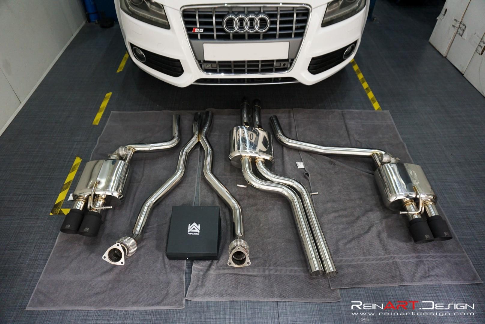 ARMYTRIX Audi S5 4.2 V8 Valvetronic Exhaust